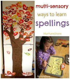 multi sensory learning, educ idea, literaci idea, fun educ, teach