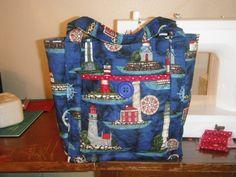 Lighthouse Bag.  Peace, Robert from nancysfabrics.com