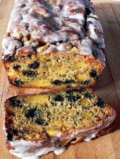 Blueberry-Peach Bread