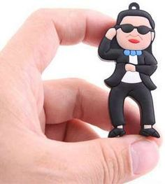 PSY Gangnam Style USB Drive #GangnamStyle #USB #Christmas http://www.trendhunter.com/