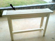 Bourne Southern: DIY Entry Table Under $30 @coreymccarra