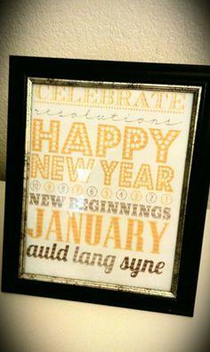 year parti, subway art, year subway, holiday idea, corediy galor, feelings, christma, new years, crafts
