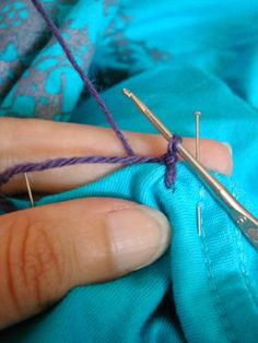 How to Add Crochet Trim to Any Fabric Edge - CraftStylish ;-)
