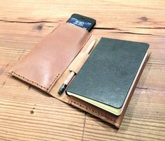 Leather iPhone Notebook / by this is ground