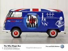 One from the archives: The Who Magic Bus.