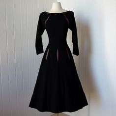 vintage 1940's dress ...rare notable designer CLAIRE McCARDELL  @tavern7 $360 #looksgoodonya