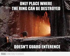 Genius, Sauron. Genius.