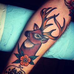 Another lovely buck tattoo (Josh Stephens)