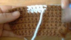 Cours de crochet N°30 - Changement de Couleur en Cours de Rang
