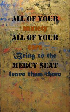 The mercy seat.