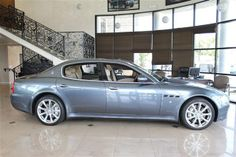 2009 Maserati Quattroporte 4dr Sdn S - Click to see full-size photo viewer