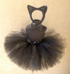 Little black kitty costume...EASY DIY!!