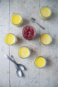 corn pot, compot recip, pot de, food, strawberries, strawberri compot, delici, sweet corn, de creme