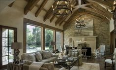 I would never leave :) Beautiful great room on Willowdecor.blogspot.com