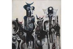 """Our exhibition """"Ibrahim El-Salahi: A Visionary Modernist"""" will go on display at Tate Modern this summer."""