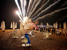 Burning the Clocks: A magical procession of brightly lit lanterns to mark the winter solstice culminating in an epic fireball on Brighton beach.