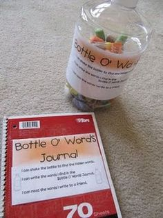 Sight Word Activity- Bottle O' Words