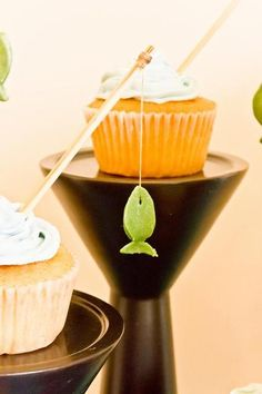 Fishing rod cupcakes #cupcakes #fishing