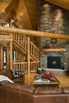 Log Home Photos