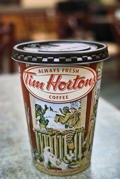 tim horton coffee