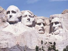 Mount Rushmore...been here