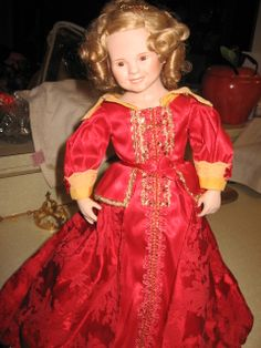Shirley Temple doll Danbury Mint collection, 18""