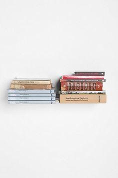 Invisible Floating Bookshelf (http://blog.hgtv.com/design/2013/07/25/daily-delight-invisible-floating-bookshelf/?soc=pinterest)