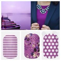 Jamberry Nails  Radiant Orchid Color of 2014 Www.andreaanderson.jamberrynails.net Facebook.com/jamwithandrea
