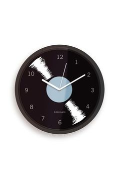 Vinyl Wall Clock vinyl wall, wall clocks, kitchen clock