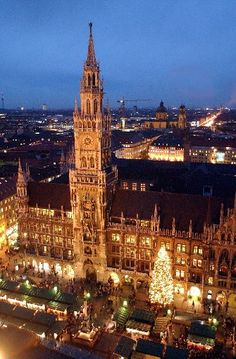 Munich's Christkindlmarkts (Christ Child Markets) are legendary. Tourists and locals alike descend in droves to shop for handmade ornaments and crafts, and to take in the sights and sounds of the season. Read more at http://www.travelsmith.com/travelcenter/destination-munich/