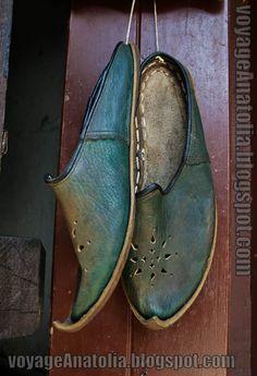 Safranbolu işi yemeni. Traditional shoes (Yemeni) from Safranbolu-Turkey