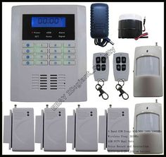 Wireless DIY Home Security Alarm Burglar System