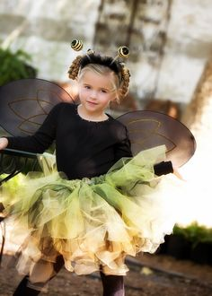 Bumblebee Costume  Bumble bee Tutu costume