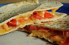 Diabetes-Friendly Super Bowl Party Ideas: Cheesy Quesadillas Recipe