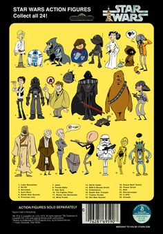 Collect all 24! Star Wars poster by artist Christopher Tupa.