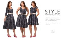 Tweak the style to suit you! Unbelievable. But true!