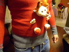 tacky Christmas sweater idea