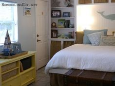 Two Rooms, Only One Piece of Sauder Furniture!