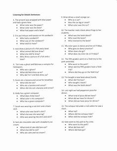 Short Stories/WH Questions. Repinned by SOS Inc. Resources pinterest.com/sostherapy/.