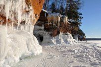 seas, caves, lakes, lake superior, cave expos, apostl island, sea cave
