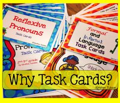 Why Task Cards? Ever