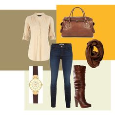 Casual Outfit- Browns