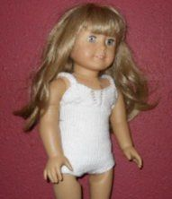 knit swimsuit for AG doll
