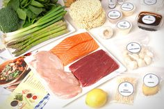 Blue Apron - This handy service ships you the raw ingredients for three delicious meals each week; each meal is perfectly portioned, weighs in a 500-700 calories, and takes roughly 35 minutes to prepare. There are options available for both carnivores and vegetarians, so no matter what your lifestyle, there's an option to match.