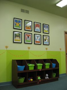 This would be wonderful to do in the infant & crawler room - maybe even the one year olds.