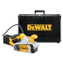 DEWALT DW433K 8 Amp 3-Inch-by-21-Inch Variable Speed Belt Sander Kit with Dust Canister and Case