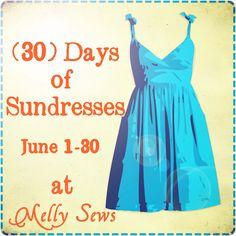 Summer Sundress Series--30 dresses in June--babies, girls, and women