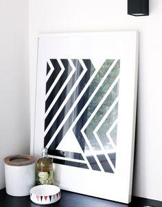 'wild stripes' print by Weekday Carnival.