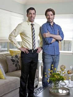 "From our ""HGTV Hot Hunks"" collection, The Property Brothers. Yay or Nay? Are you Team Jonathan or Team Drew? #pinwithmeg"