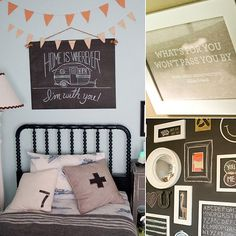 Personalize your kids rooms with these 9 decor tips! (via POPSUGAR Moms) child room, big boy, kid rooms, babi, wyatt room, boy room